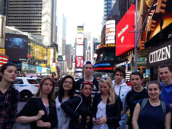 Voyage New York ados